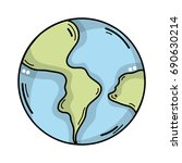 global earth planet and...   Shutterstock .eps vector #690630214