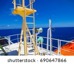 Small Monkey Ladder Of A Ship...