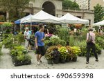new york  ny usa   august 5 ...   Shutterstock . vector #690659398