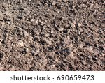 agricultural field  which was... | Shutterstock . vector #690659473