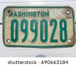washington state vintage... | Shutterstock . vector #690663184