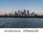 generic modern cityscape with... | Shutterstock . vector #690666184