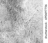 grunge texture black and white. ... | Shutterstock . vector #690697756