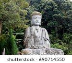 buddha statue | Shutterstock . vector #690714550