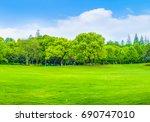 woods  | Shutterstock . vector #690747010