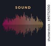 vector illustration of music... | Shutterstock .eps vector #690752500