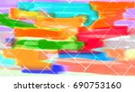 abstract background   sidewalk | Shutterstock . vector #690753160