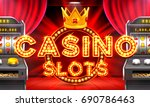 casino 3d slot machines win the ...   Shutterstock .eps vector #690786463