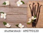 Vanilla Sticks With Flower And...