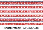 stars and stripes grunge... | Shutterstock .eps vector #690830038