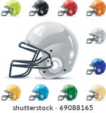 vector american football  ... | Shutterstock .eps vector #69088165