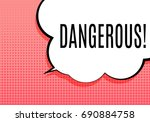 abstract banner with text... | Shutterstock .eps vector #690884758