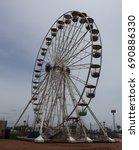 ferris wheel | Shutterstock . vector #690886330