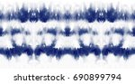tie dye seamless pattern. hand... | Shutterstock . vector #690899794