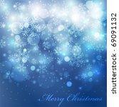 vector elegant christmas... | Shutterstock .eps vector #69091132