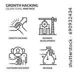 growth. hacking  square mini...