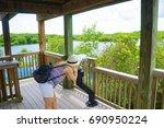 ten thousand islands national...   Shutterstock . vector #690950224