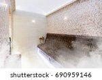 interior of turkish sauna ...   Shutterstock . vector #690959146