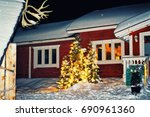 House In The Reindeer Farm In...