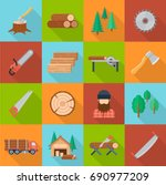 Timber Industry Set. Offering...