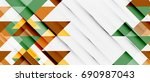 triangle pattern design... | Shutterstock . vector #690987043