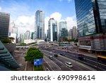 hong kong   july 16  2017  hong ...   Shutterstock . vector #690998614