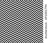Vector Seamless Zigzag Pattern...
