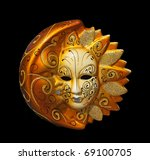 Traditional Venice Mask With...
