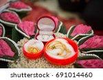 wedding  engagement  love the... | Shutterstock . vector #691014460
