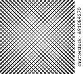 grid  lattice  grill regular... | Shutterstock .eps vector #691084270