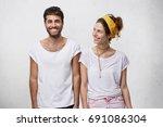 love  relationships  romance... | Shutterstock . vector #691086304