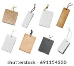 collection of  various price... | Shutterstock . vector #691154320