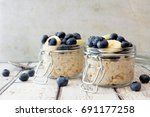 Overnight Oats With Fresh...