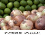 Small photo of Onion, Allium cepa, plant of the Alliaceae family, consumed worldwide as raw material for various culinary dishes