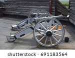 Field Canons At Fort William...
