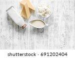 Farm Dairy Products. Milk ...