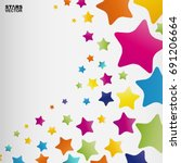 stars background  abstract... | Shutterstock .eps vector #691206664