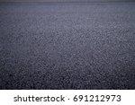 asphalt road texture with... | Shutterstock . vector #691212973