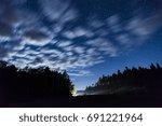 Night Sky Full Of Stars And...