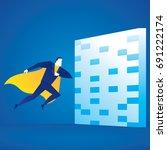 business illustration concept... | Shutterstock .eps vector #691222174