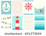 set of banner  background ... | Shutterstock .eps vector #691273054
