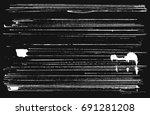 abstract grunge strips. white...   Shutterstock .eps vector #691281208