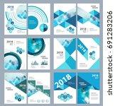 medical brochure design... | Shutterstock .eps vector #691283206