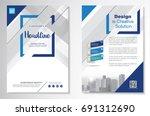 template vector design for... | Shutterstock .eps vector #691312690