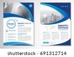 template vector design for... | Shutterstock .eps vector #691312714