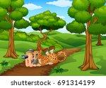 vector illustration of... | Shutterstock .eps vector #691314199