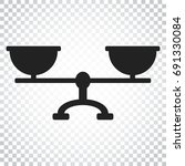 scale weigher vector icon....