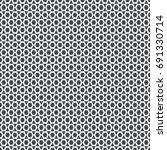 vector seamless pattern.... | Shutterstock .eps vector #691330714