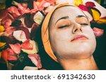 people  beauty  spa ...   Shutterstock . vector #691342630