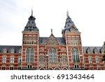 amsterdam  holland  europe  ...   Shutterstock . vector #691343464